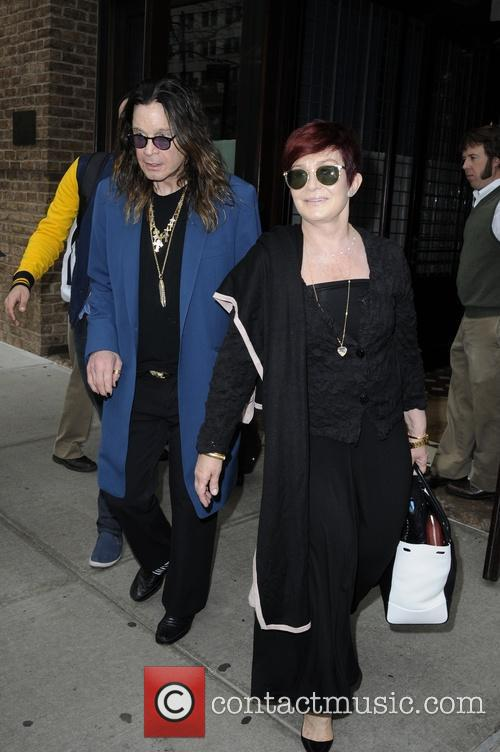Ozzy Osbourne and Sharon Osbourne 4