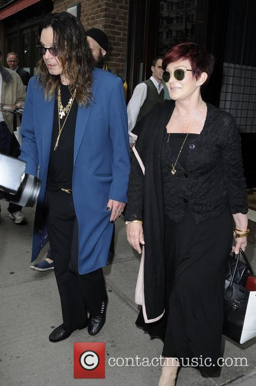 Ozzy Osbourne and Sharon Osbourne 10