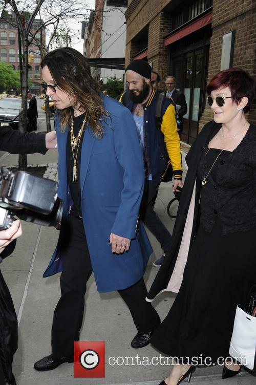 Ozzy Osbourne and Sharon Osbourne 12
