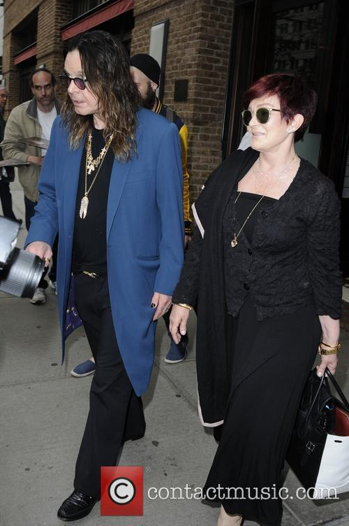 Ozzy Osbourne and Sharon Osbourne 13