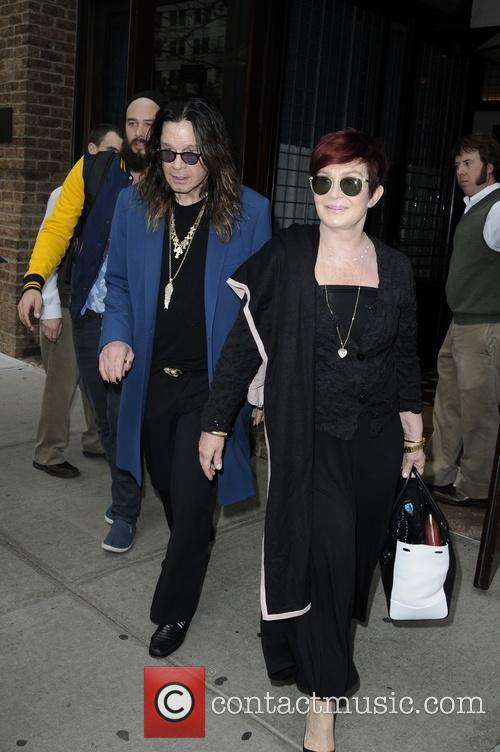 Ozzy Osbourne and Sharon Osbourne 22