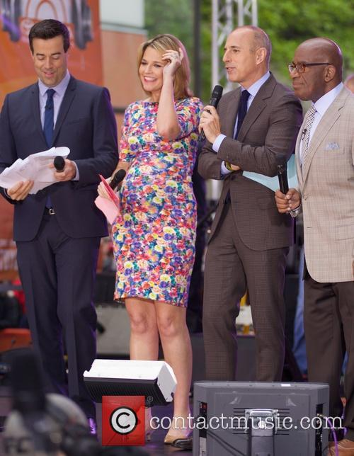 Savannah Guthrie, Matt Lauer and Al Roker 3