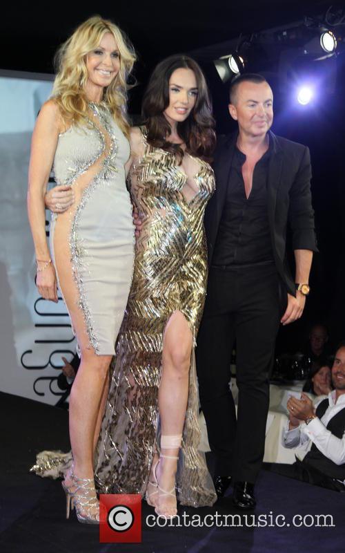 Melissa Odabash, Tamara Ecclestone and Julien Macdonald 2