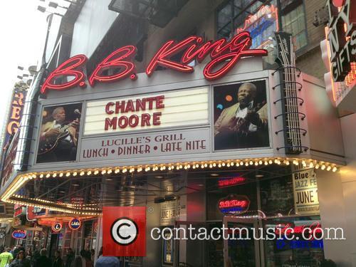 Chante Moore performs at B.B. King Blues Club...