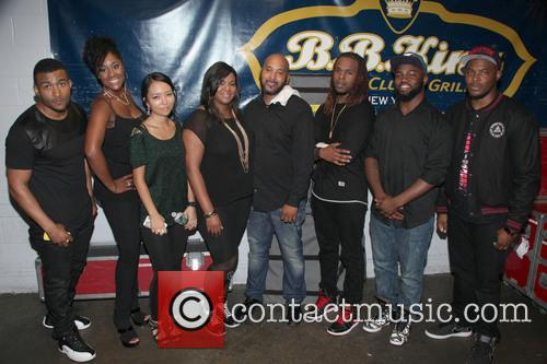 Chante Moore, Derrick Evans, Tamika Peoples, Jinjoo Lee, Raven Johnson, Devon Johnson, Clarence Lewis, Taron Crayton and Daryl Ducan