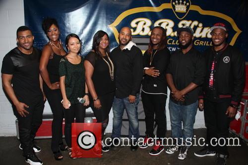 Chante Moore, Derrick Evans, Tamika Peoples, Jinjoo Lee, Raven Johnson, Devon Johnson, Clarence Lewis, Taron Crayton and Daryl Ducan 8