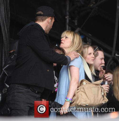Chris Martin and Edith Bowman 6