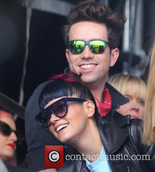 Lily Allen and Nick Grimshaw 2