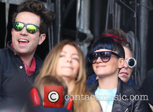 Lily Allen and Nick Grimshaw 6