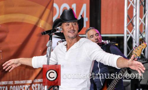 Tim McGraw, Today Show Plaza, Rockefeller Plaza