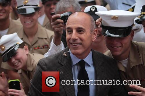 Matt Lauer, The Today Show, Rockefeller Plaza
