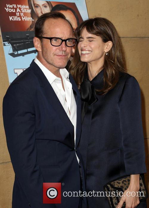 Clark Gregg and Amanda Peet 10