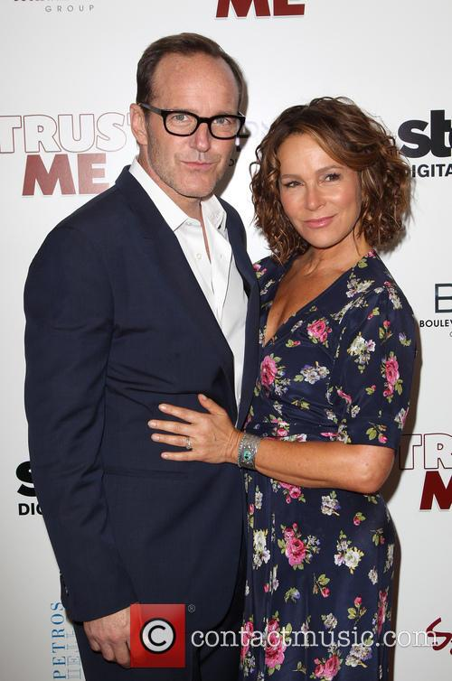 Clark Gregg and Jennifer Grey 2
