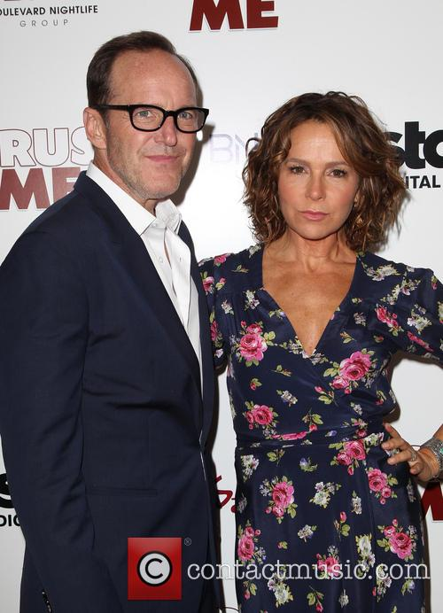 Clark Gregg and Jennifer Grey 9