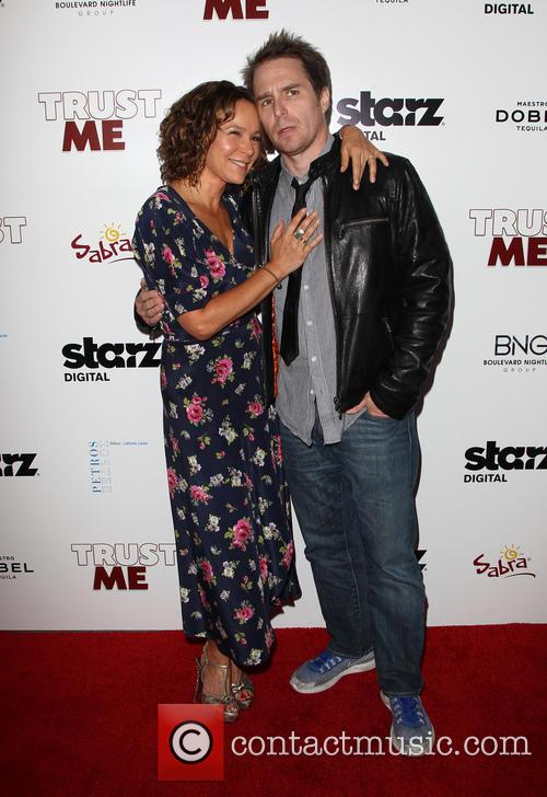 Sam Rockwell and Jennifer Grey 3