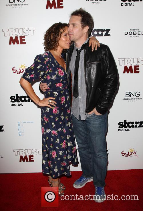 Sam Rockwell and Jennifer Grey 5