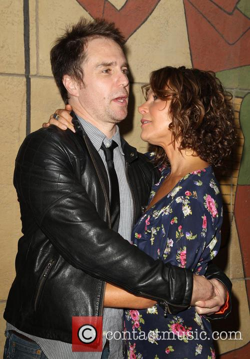 Sam Rockwell and Jennifer Grey 1