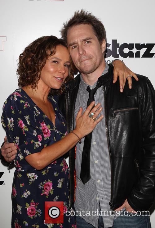 Sam Rockwell and Jennifer Grey 7
