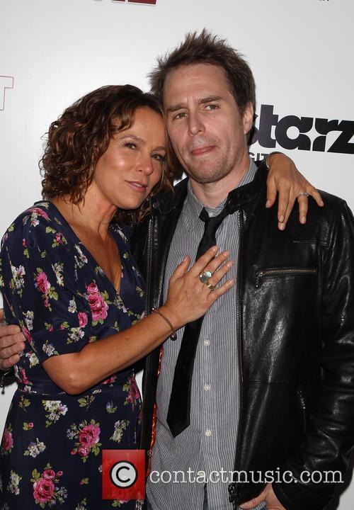 Sam Rockwell and Jennifer Grey 8