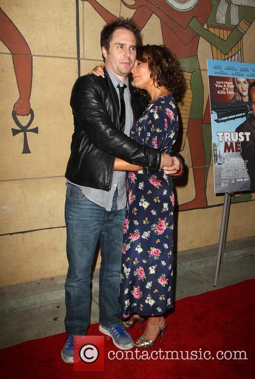 Sam Rockwell and Jennifer Grey 13