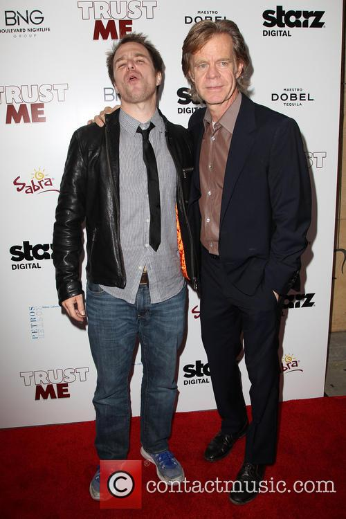 Sam Rockwell, William H. Macy, the Egyptian Theatre