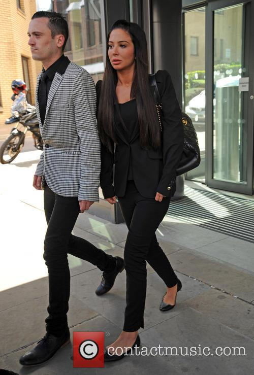 Tulisa pictured leaving Chelmsford Magistrates Court