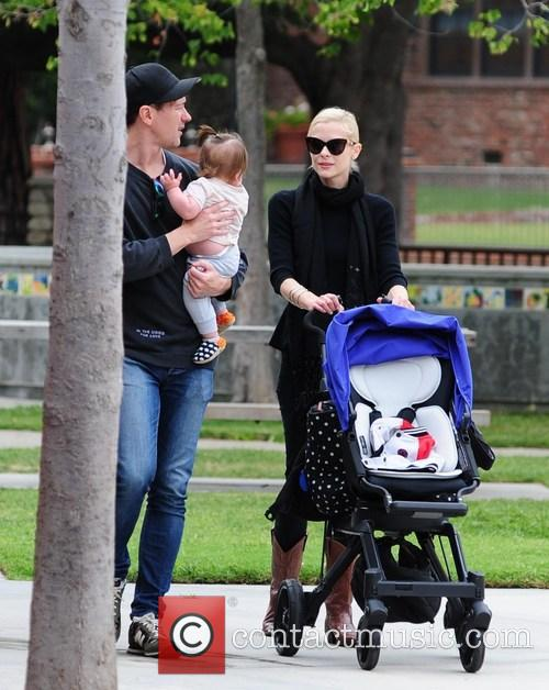 Jaime King enjoys time at the park with...