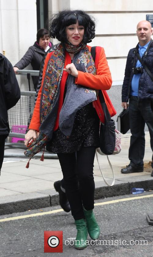 Meow Meow spotted leaving Radio 2