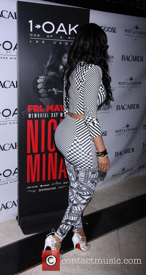 Nicki Minaj hosts a night at 1OAK