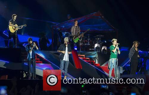 One Direction performs at Croke Park in Dublin