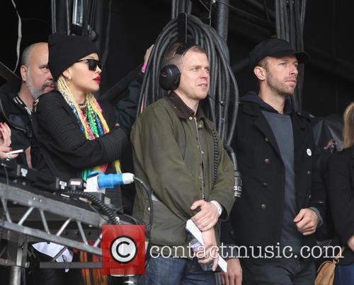 Chris Martin, Rita Ora, Glasgow Green
