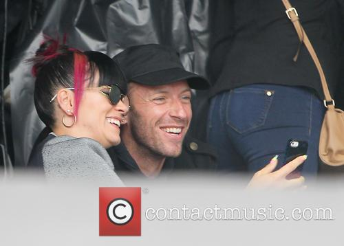 Lily Allen and Chris Martin 4