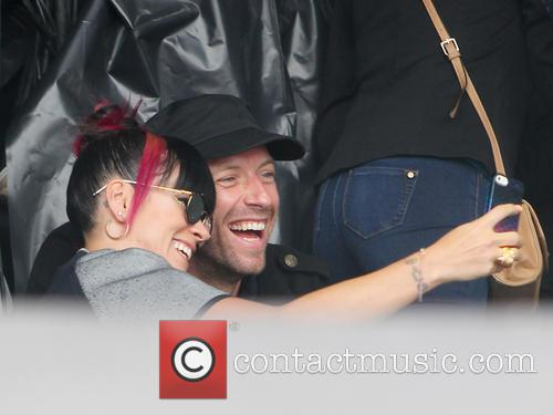 Lily Allen and Chris Martin 5