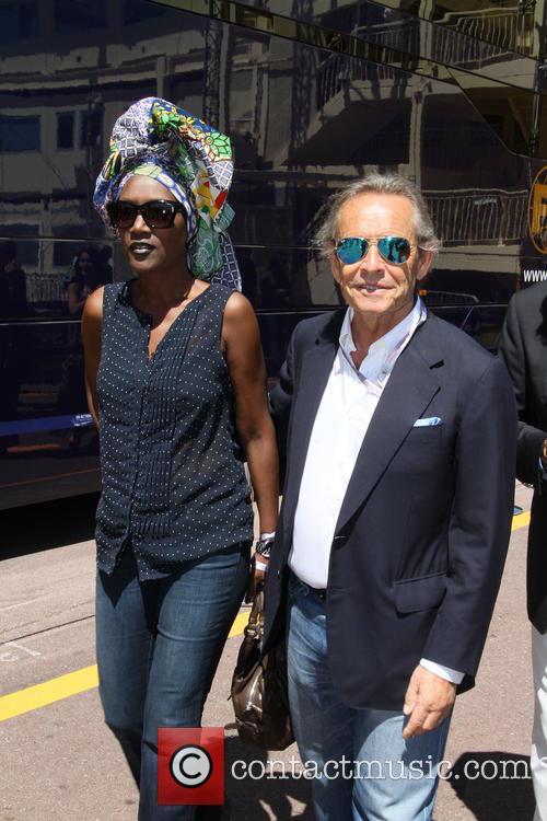 Formula One, Jacky Ickx and Wife Khadja Nin - 3