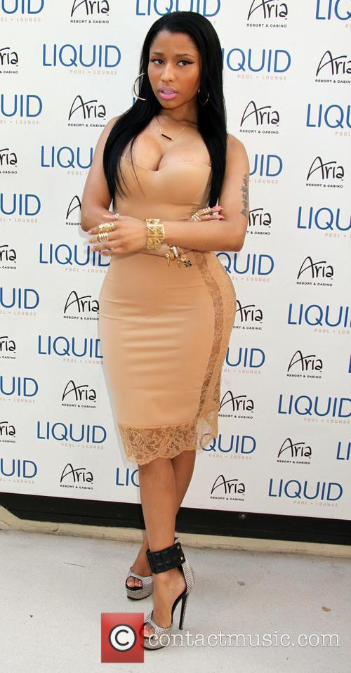 Nicki Minaj hosts an evening at Liquid Pool...