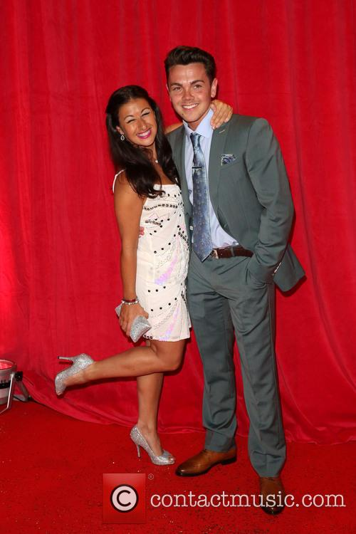 Hayley Tamaddon and Ray Quinn