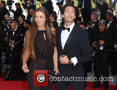 Adrien Brody and His Girlfriend Lara Lieto 3