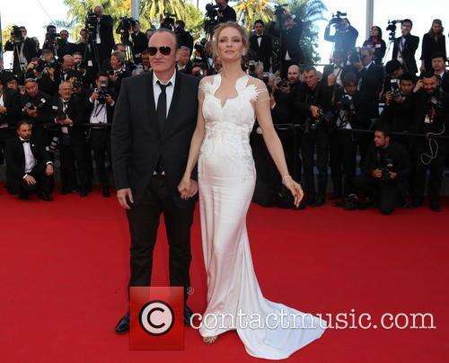 Quentin Tarantino, Uma Thurman, Cannes Film Festival