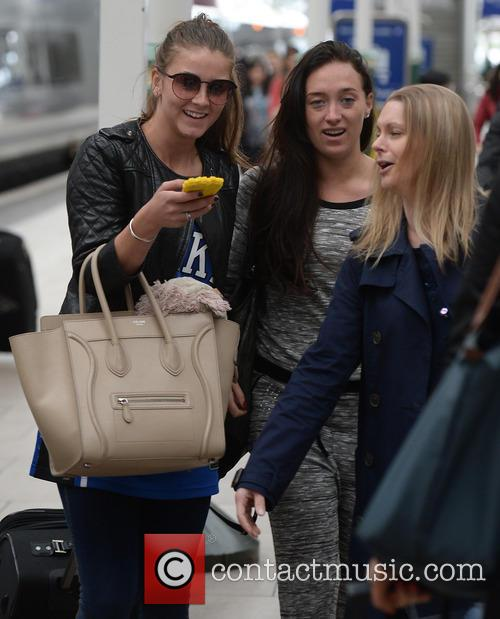 Cast members of 'Coronation Street' arrive at Manchester...