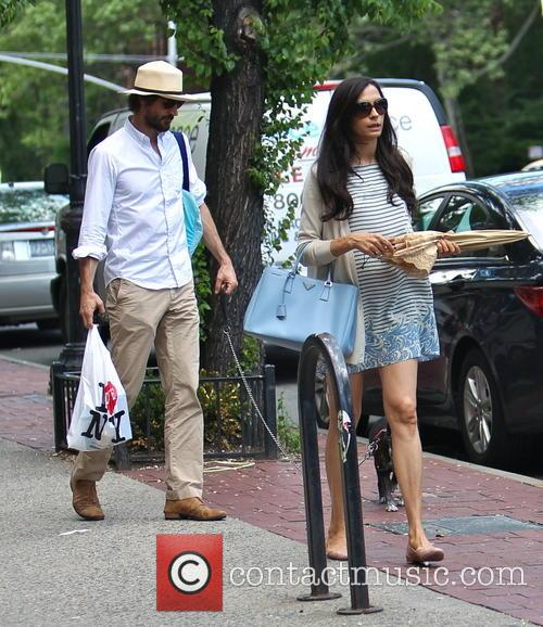 Famke Janssen and Cole Frates 10