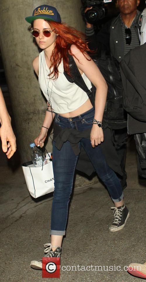 Kristen Stewart At LAX