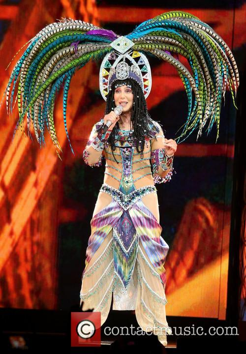 Cher In Concert At The MGM Grand
