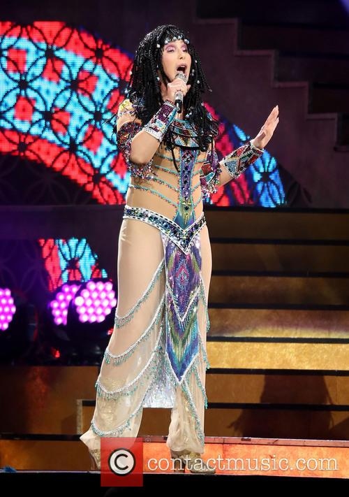Cher In Concert at MGM Grand Garden Arena