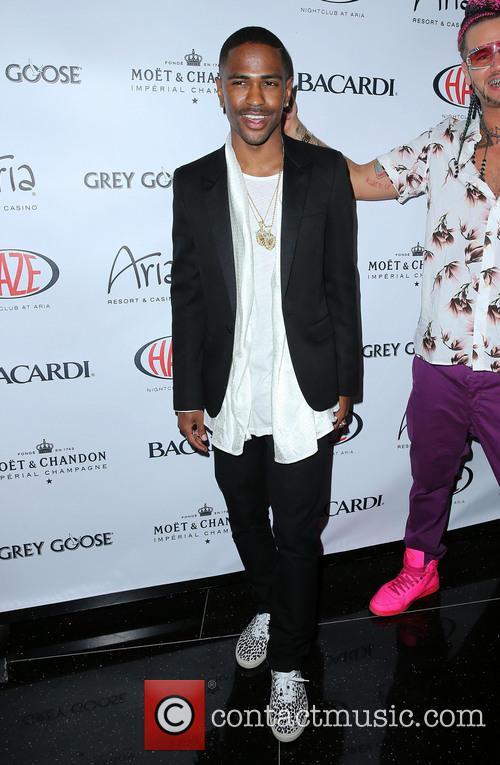 Big Sean at Haze Nightclub Inside ARIA