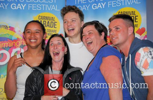 Conor Maynard, White Dee and Deirdre Kelly 3