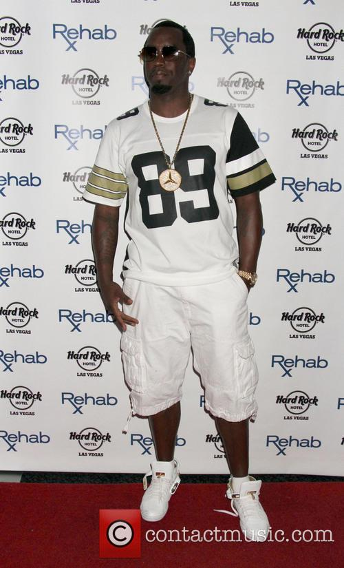 Puff Daddy Celebrates Memorial Day Weekend at REHAB
