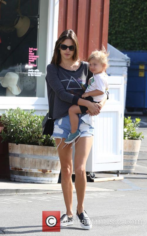 Alessandra Ambrosio Alessandra Ambrosio With Son Noah 11