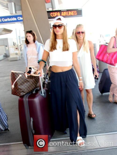 Ferne McCann Leaves Las Vegas