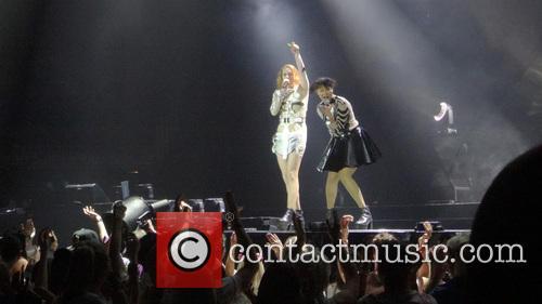 Icona Pop, Atmosphere, Aino Jawo and Caroline Hjelt 2