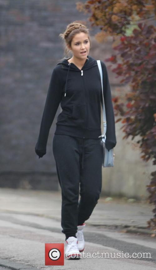 Jacqueline Jossa leaves the BBC Elstree Studios